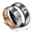 Ocelové snubní prstýnky JCFCR051