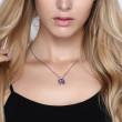 Ocelový náhrdelník s krystalem Swarovski Brosway N-Tring BTN38