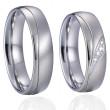 Ocelové snubní prstýnky SPPL026