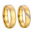 Ocelové snubní prsteny SPPL032