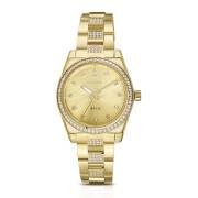 Zlaté dámské náramkové hodinky Brosway Déco WDC15