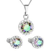 Sada stříbrných šperků s kamínky Swarovski 39352.5 Paradise shine