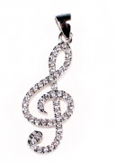 Přívěsek houslový klíč 307052