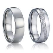 Ocelové snubní prstýnky SPPL017