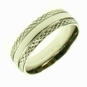 Prsten z chirurgické oceli R1338