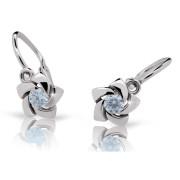 Dětské náušnice Cutie Jewellery C2201B Arctic Blue