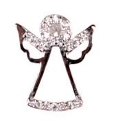 Stříbrný přívěšek anděl 304719