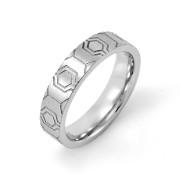 prsten z chirurgické oceli MCRSS029