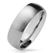 Ocelový snubní prsten 027-S