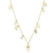 Pozlacený náhrdelník pro ženy Brosway Chant BAH06