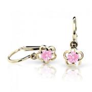 Náušnice pro miminka Cutie C1945Z-Pink