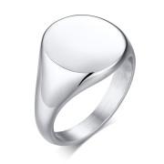 Dámský pečetní prsten z chirurgické oceli SERC448