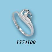 Stříbrný prsten 1574100