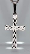 Stříbrný křížek na krk SZK002