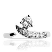 stříbrný prsten na nohu 029