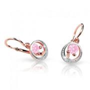 Náušnice pro miminko Cutie C1997R-Pink