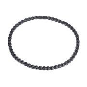 Ocelový náhrdelník lístečky SEJCF003B