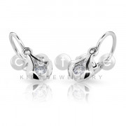 Dětské naušničky Cutie Jewellery C2224B CZ White