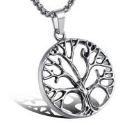 Náhrdelník z chirurgické oceli strom života WJHC59