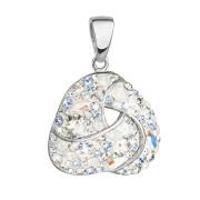 Přívěsek přátelství Swarovski elements 34189.3 light saphire