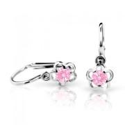 Náušnice pro miminka Cutie C1945B-Pink