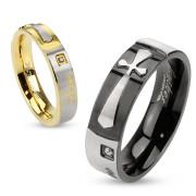 Ocelové snubní prsteny 2958