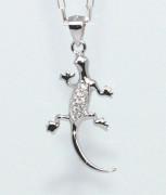 Přívěsek stříbrný ještěrka 305329