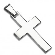 Přívěsek kříž chirurgická ocel 7000 Steel