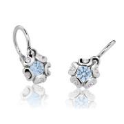 Náušničky pro miminko Cutie Jewellery C2178B Arctic Blue