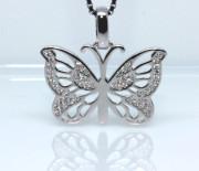 Přívěsek stříbrný motýl 308409