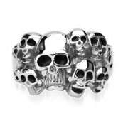 Pánské prsteny z chirurgické oceli 7684