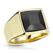 Pánský ocelový pečetní prsten 7122G