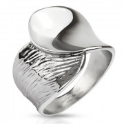 Dámský ocelový prsten 3108