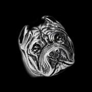 Ocelový prsten Pitbull WJHZ337
