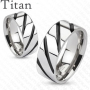 Snubní prsteny z titanu 4380