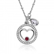 Elegantní dámský stříbrný náhrdelník Brosway New Age G9NA06