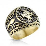 Pánský prsten chirurgická ocel 6813