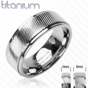 Titanový prsten Spikes SEHRTI0350