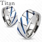 Snubní prsteny titanové 4381