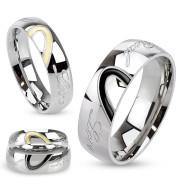 Snubní prsteny chirurgická ocel 3030