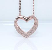 Dámský náhrdelník srdce 306986