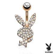 Playboy piercing pupíku 025RD-C