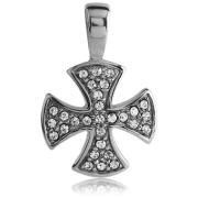 Přívěsek maltézský kříž 131-CR