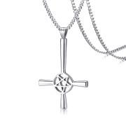 Satanský kříž chirurgická ocel JCFPN-1127S
