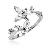 Prsten na nohu stříbro SETRSS039