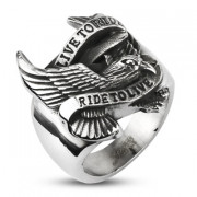 prsteny pro muže z oceli 11894