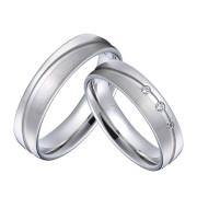 Svatební prstýnky z chirurgické oceli SPPL034