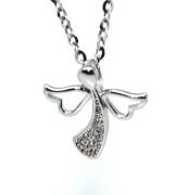 Stříbrný přívěsek anděl 310775