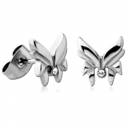 Náušnice do ucha z chirurgické oceli SESCES139