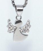 Stříbrný přívěšek anděl 307053